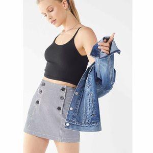 Urban Outfitters | Striped Mini Sailor Skirt Sz XS